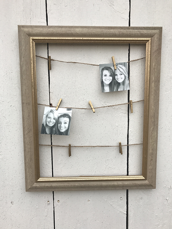 How to Repurpose Outdated Picture Frames – Brooke Semke